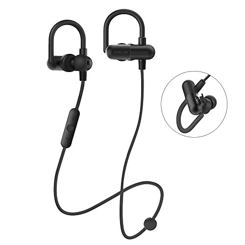 Bluetooth Headphones,Evershop Wireless 4.1 Sweatproof Sport Earbuds Stereo Earphones With Built-in Mic Noise-Cancelling,Secure Fit for Fitness Running