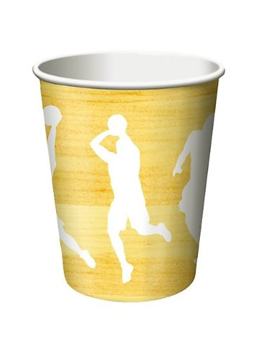 Basketball 9oz Cups