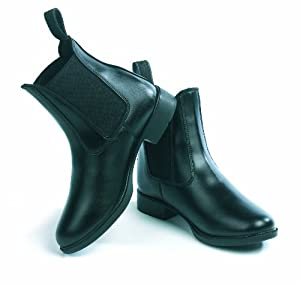 Just Togs Essentials Synthetic Jodphur Boot - Black, 3 UK