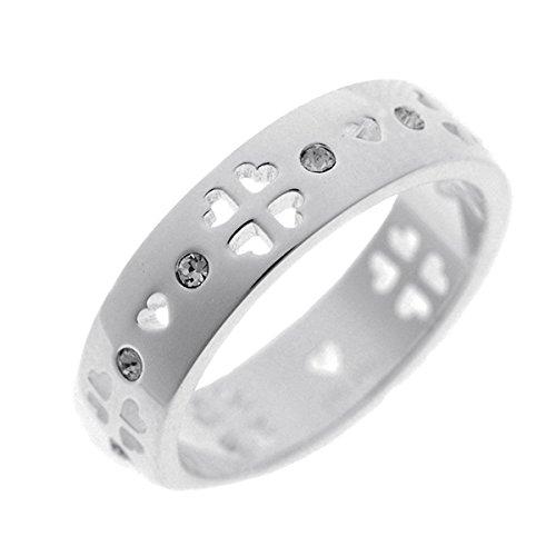 フォリフォリ FOLLI FOLLIE 指輪 リング 3R14F014C/50 シルバー[並行輸入品]