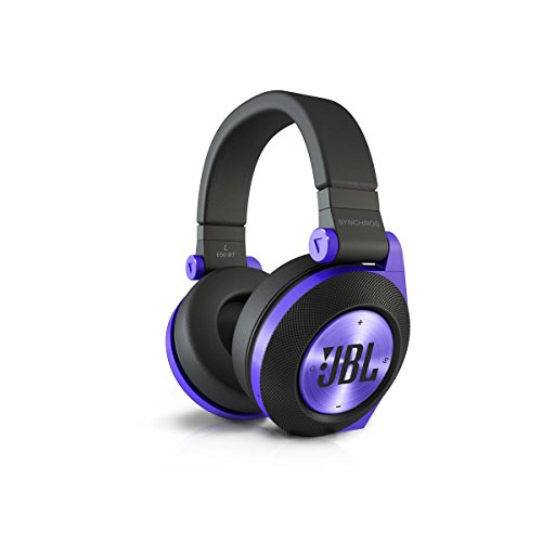 Jbl E50Bt Purple Premium Wireless Over-Ear Bluetooth Stereo Headphone, Purple