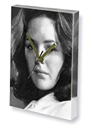 BONNIE BEDELIA - Canvas Clock (A4 - Signed by the Artist) #js001