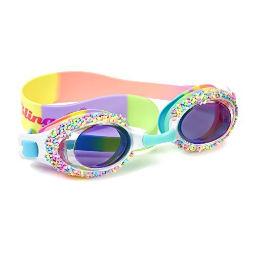[Swimming Goggles For Girls - Cake Pop Kids Swim Goggles By Bling2o (Whoopie Pie Brights)] (Scuba Costume Child)