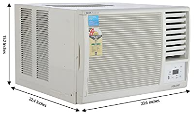 Voltas 122LY/E Window AC (1 Ton, 2 Star Rating, White)
