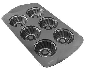 WILTON 6-Cavity Non-Stick Mini Swirl Pan