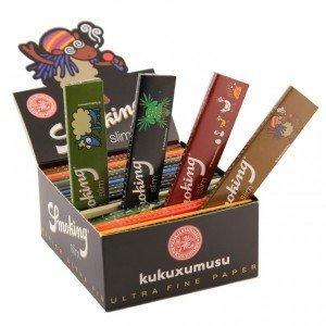 Smoking Kukuxumusu - 50 cartine slim per sigarette, 33 confezioni