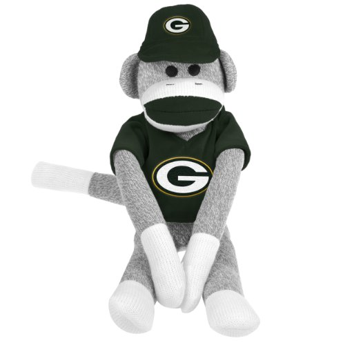 NFL Green Bay Packers Uniform Sock Monkey at Amazon.com