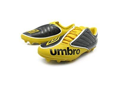 Umbro Swerve 2 HGR Yellow Soccer Cleats