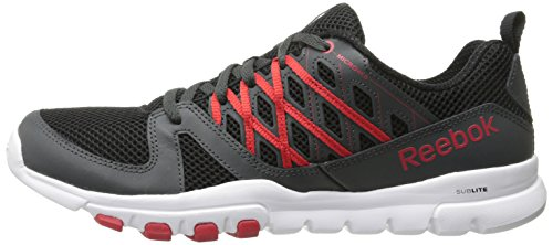 Reebok Men's Sublite Train RS 2.0L Training Shoe, Black ...