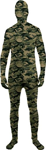 Disappearing Camo Morph Suit Invisible Man Size:Teen