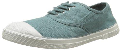 Bensimon - Sneaker Tennis Lacet, Donna, Verde (Vert (Vert de Gris 614)), 36