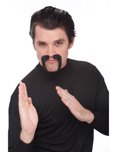 Costume-Accessory China Man Mustache/ Goatee Halloween Costume Item - 1 size
