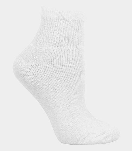 Fruit of the Loom Women's 10pk Cushioned Ankle Crew Socks