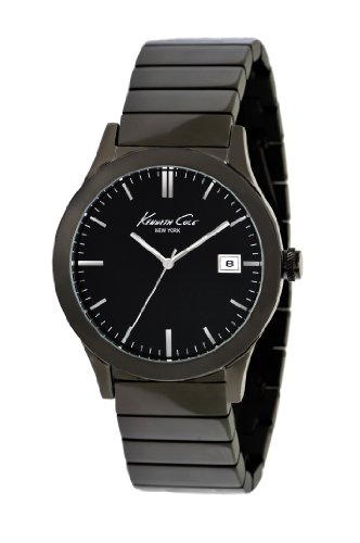 Kenneth Cole New York Men's KC9117 Classic Triple Black Black Stainless Steel Watch  Watch