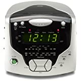 Roberts Radios 3-Band Dual Alarm Stereo Clock Radio with CD Player (CD Cube)
