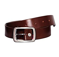 Arrison Genuine Single leather (without pasting ) Belt For Men Brown designer length 42 inch