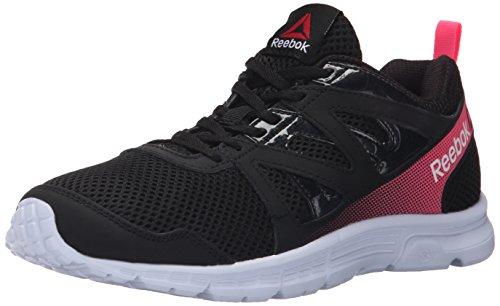 Reebok Women's Run Supreme 2.0 Mt running Shoe, Black/Solar Pink, 7 M US (Reebok Running Shoes Women compare prices)