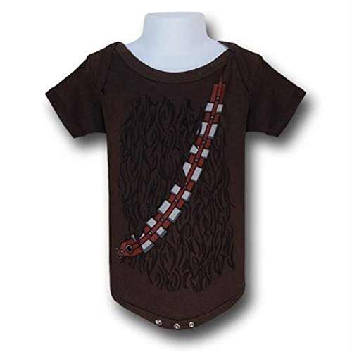 Star Wars Chewbacca Costume Infant Snapsuit