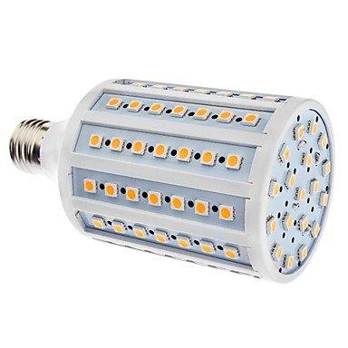 E27 18W 102X5050Smd 1500-1600Lm 3000-3500K Warm White Light Led Corn Bulb (110/220V)