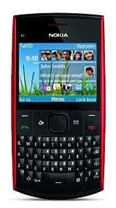 Nokia X2-01 Unlocked GSM Phone-U.S. Version with Warranty (Red)