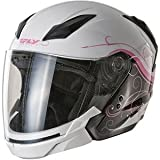 Fly Racing Tourist Cirrus Helmet - X-Small/White/Pink