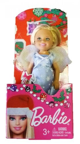 "Barbie 2013 Chelsea 5.5"" Tall Doll - Blond, Angel Outfit - 1"