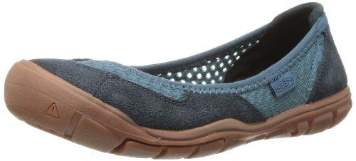 Keen Women'S Mercer Ballerina Cnx Fashion Sneaker,Mallard Blue,8.5 M Us front-963227