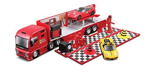 Bburago 18-31202 - Bisarca/Officina Ferrari Race & Play 1:43