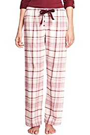 Pure Cotton Checked Pyjama Bottoms [T37-9159-S]