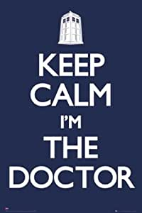 Doctor Who - Keep Calm I'm the Doctor TV Poster