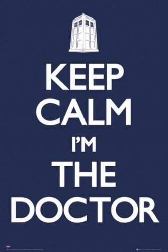 """1art1 58728, Poster """"Doctor Who"""", 91 x 61 cm"""