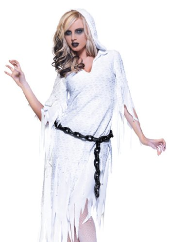 Underwraps Sexy Haunted House Ghost Lady Scary Halloween Costume