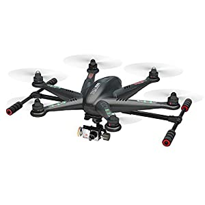 Walkera TALI H500 RTF6 Hexacopter/Hexrotor Drone UAV - Carbon Edition (RTF-2 + Groundstation) - 3-Axis Gimbal For GoPro Camera + GroundStation - Lowest Price