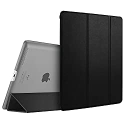 Cellbell Premium Leather Flip Smart Case For Apple ipad 2 3 4-Smart case ( Black )