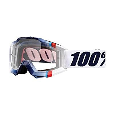 100% Accuri Goggles - Clear Lens-White Crystal
