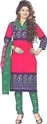 Amin Women's Cotton Dress Material 5002_Multicoloured_Freesize