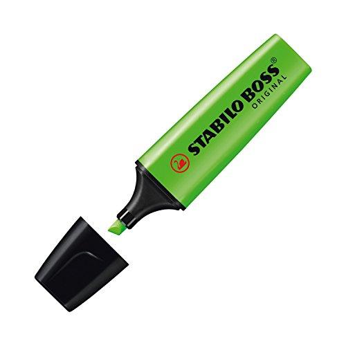 stabilo-70-33-boss-original-scatola-cartone-evidenziatori-2-5-mm-confezione-da-10-verde