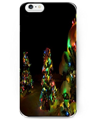 Ukase [Scratch-Resistant] Snap On Cases For 2014 Apple Iphone 6 (4.7 Inch) With Pattern Of Christmas Tree With Led Lights
