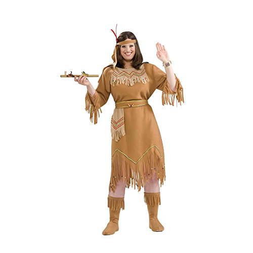 Women's Indian Maiden Plus Size Costume