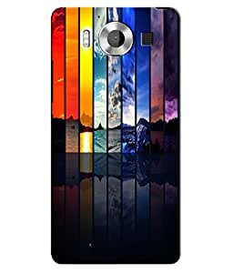 Citydreamz Back Cover For Microsoft Lumia 950|