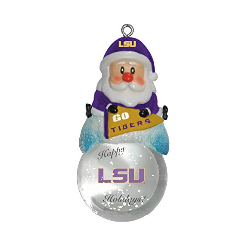 NCAA LSU Tigers Snow Globe Ornament