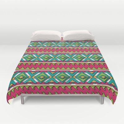Aztec Duvet Cover front-1075887