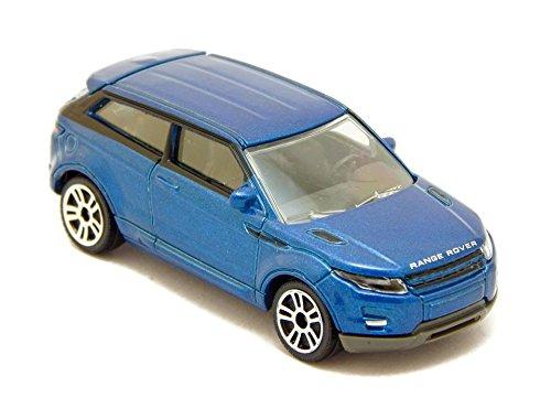Land Rover Range Rover Evoque 1:64 Blue Majorette Street Cars 266A (2015 Range Rover Model compare prices)