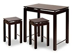 Gourmet Kitchen Island Set with Seating