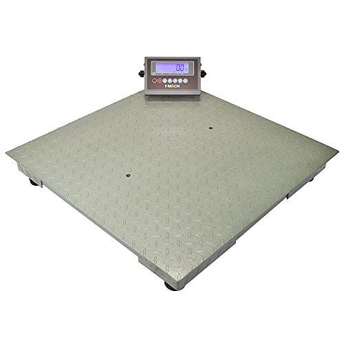 Balance plateforme échelle commerciale affichage LED Balance Palette colis T-Mech 80 cm x 80 cm ...