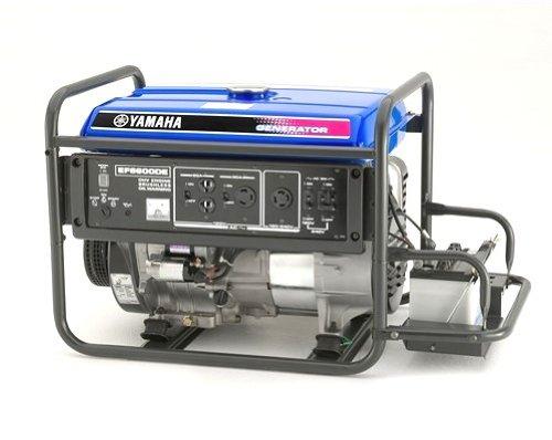 Yamaha ef4500ise 4500 watt electric start gas power for Yamaha inverter generator 4500