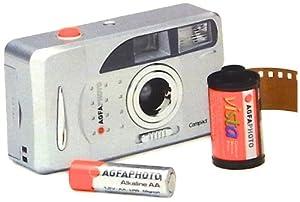 Lupus AGFAFF96 Set appareil photo argentique avec 3 pellicules pour 96 photos