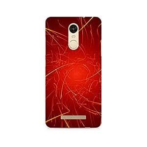 TAZindia Designer Printed Hard Back Case Cover For Xiaomi Redmi Note 3