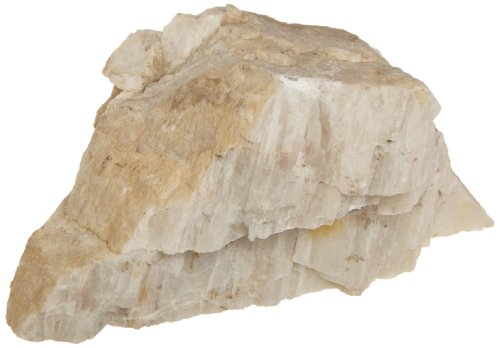 American Educational White-Gray Cleavage Spodumene Mineral, 1Kg