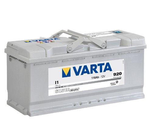 VARTA SILVER DYNAMIC AUTOBATTERIE I1 12V 110AH